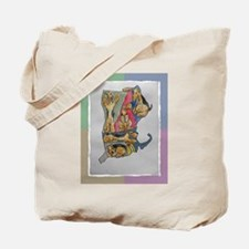 Tote Bag with Airedale map