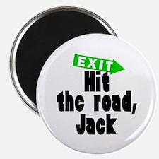 Hit the road, Jack Magnet