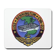USS BENNINGTON Mousepad