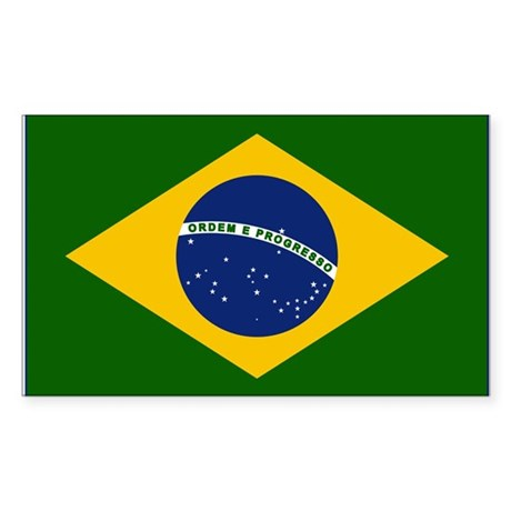 Flag_of_Brazil Sticker