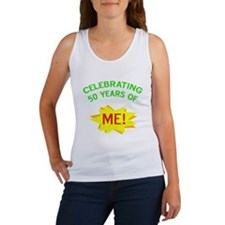 Celebrating My 50th Birthday Women's Tank Top