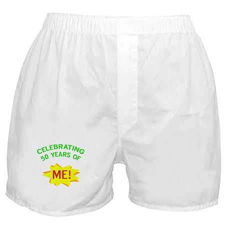 Celebrating My 50th Birthday Boxer Shorts