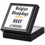 Belgian Sheepdog Best Breeds Keepsake Box