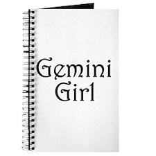 Zodiac: Gemini Girl Journal