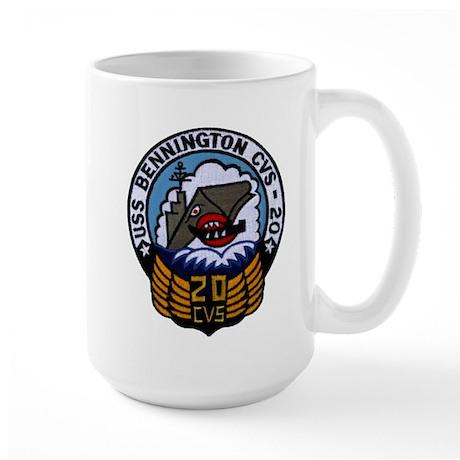 USS BENNINGTON Large Mug