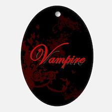 Vampire Ornamental Ornament (Oval)