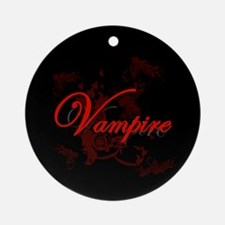 Vampire Ornamental Ornament (Round)