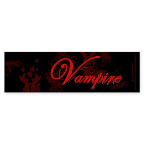 Vampire Ornamental Sticker (Bumper 50 pk)
