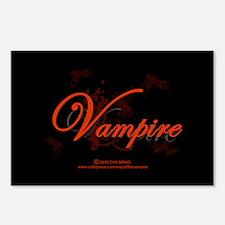 Vampire Ornamental Postcards (Package of 8)