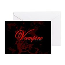 Vampire Ornamental Greeting Cards (Pk of 20)