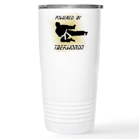 Powered By TKD Stainless Steel Travel Mug