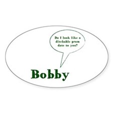 Unique Bobby singer Decal