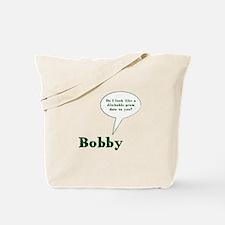 Cute Bobby Tote Bag