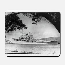 USS New Mexico Ship's Image Mousepad