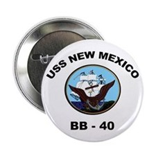 USS New Mexico BB 40 Button