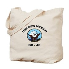USS New Mexico Ship's Image Tote Bag
