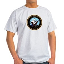 USS New Mexico BB 40 Ash Grey T-Shirt