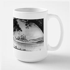 USS New Mexico Ship's Image Large Mug
