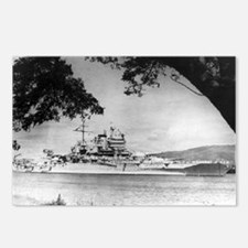 USS New Mexico Ship's Image Postcards (Package of