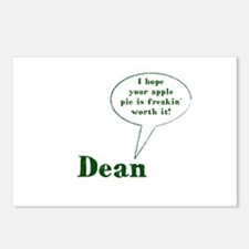Dean Winchester Quote Postcards (Package of 8)