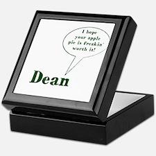 Dean Winchester Quote Keepsake Box