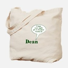 Dean Winchester Quote Tote Bag