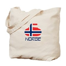 Norway Curling Tote Bag