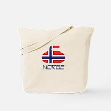 Norway Curling Tote Bag