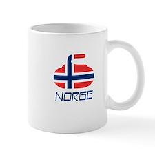 Norway Curling Small Mug