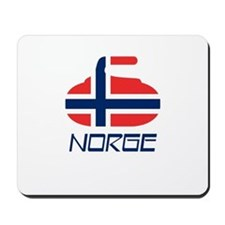 Norway Curling Mousepad