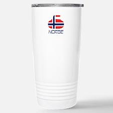 Norway Curling Stainless Steel Travel Mug