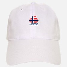 Norway Curling Baseball Baseball Cap