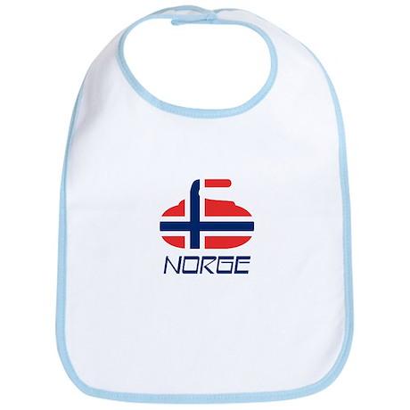 Norway Curling Bib