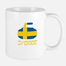 Sweden Curling Mug