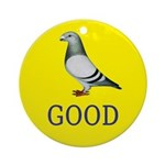 Pigeons-GOOD! Ornament (Round)