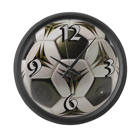 Soccer Large Wall Clock