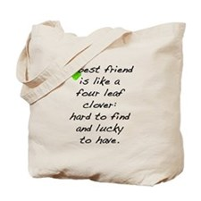 Cute Irish luck Tote Bag