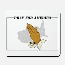 Pray For America Mousepad
