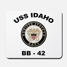 USS Idaho BB 42 Mousepad