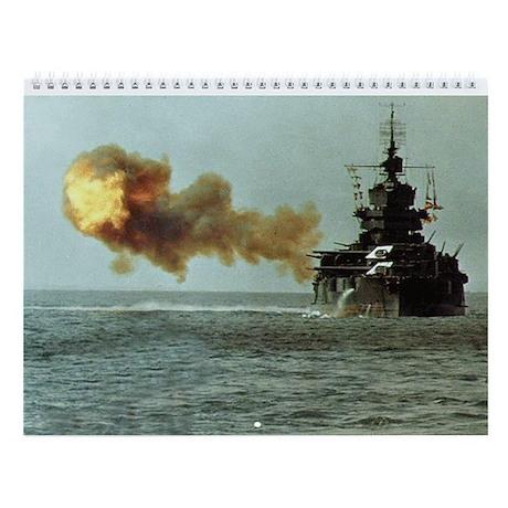 USS Idaho Ship's Image Wall Calendar