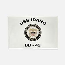 USS Idaho BB 42 Rectangle Magnet