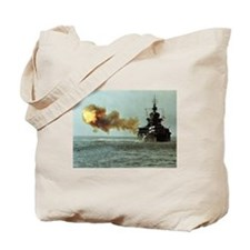 USS Idaho Ship's Image Tote Bag