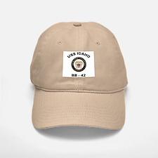 USS Idaho BB 42 Baseball Baseball Cap