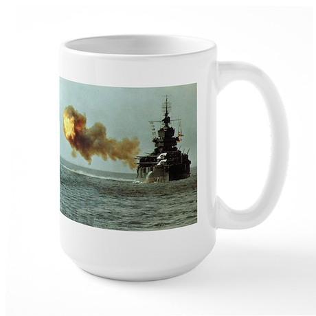 USS Idaho Ship's Image Large Mug