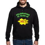 Celebrating My 75th Birthday Hoodie (dark)