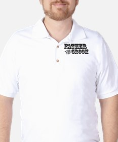 Father of the Groom - Old West Golf Shirt