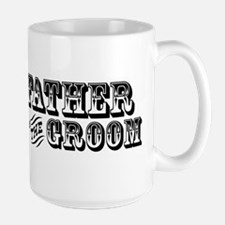 Father of the Groom - Old West Large Mug