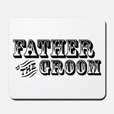 Father of the Groom - Old West Mousepad