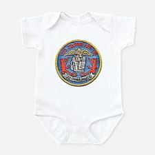 USS TELFAIR Infant Bodysuit