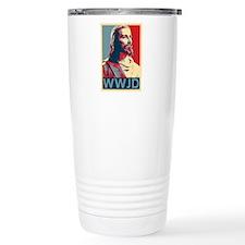 Jesus - WWJD Travel Mug